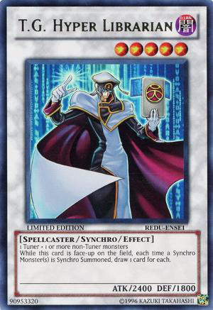 T.G. Hyper Librarian - REDU-ENSE1 - Super Rare - Limited Edition