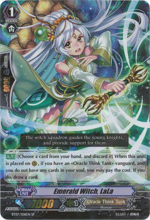 Emerald Witch, LaLa - BT07/S06EN - SP