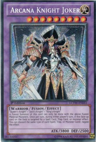 Arcana Knight Joker - LCYW-EN051 - Secret Rare - 1st Edition