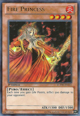 Fire Princess - LCYW-EN161 - Ultra Rare - 1st Edition