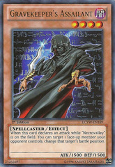 Gravekeeper's Assailant - LCYW-EN189 - Ultra Rare - 1st Edition