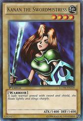 Kanan the Swordmistress - LCYW-EN228 - Ultra Rare - 1st Edition