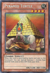 Pyramid Turtle - LCYW-EN245 - Secret Rare - 1st Edition
