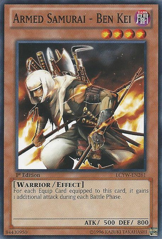 Armed Samurai - Ben Kei - LCYW-EN261 - Common - 1st Edition