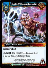 Barador, Wildhammer Timewalker