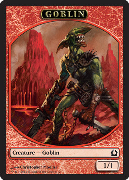Channel Fireball Goblin Token Magic Singles 187 Scars Of