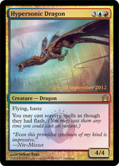 Hypersonic Dragon - Foil - Prerelease Promo