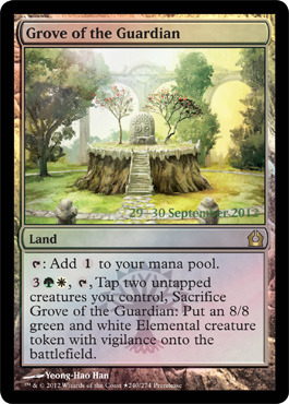 Grove of the Guardian - Foil - Prerelease Promo