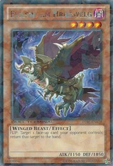 Evilswarm Hraesvelg - DT07-EN029 - Rare Parallel Rare - Duel Terminal on Channel Fireball