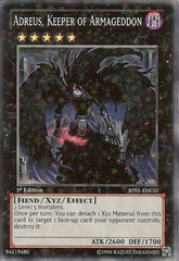 Adreus, Keeper of Armageddon - BP01-EN030 - Starfoil Rare - Unlimited Edition