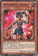 Amazoness Trainee - BP01-EN213 - Starfoil Rare - Unlimited Edition on Channel Fireball