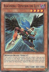 Blackwing - Zephyros the Elite - BP01-EN215 - Starfoil Rare - Unlimited Edition
