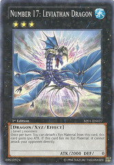 Number 17: Leviathan Dragon - BP01-EN027 - Starfoil Rare - Unlimited Edition