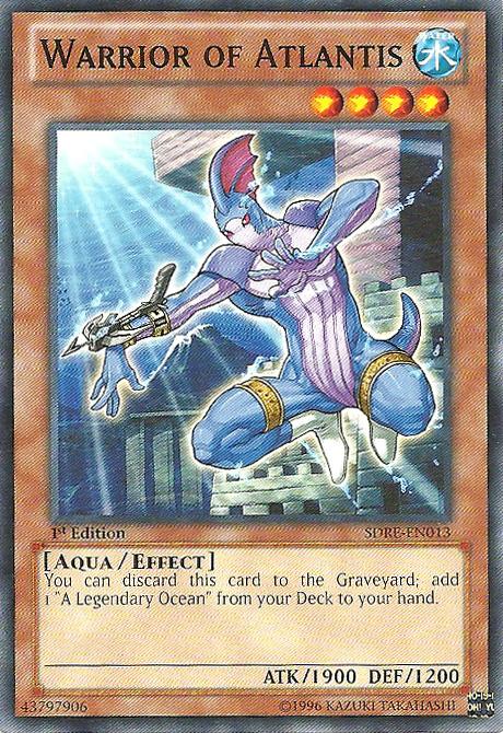 Warrior of Atlantis - SDRE-EN013 - Common - 1st Edition