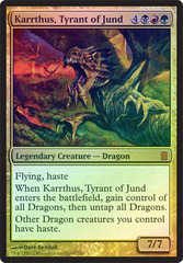 Karrthus, Tyrant of Jund (Oversized) on Channel Fireball