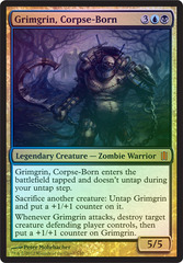 Grimgrin, Corpse-Born (Oversized) on Channel Fireball