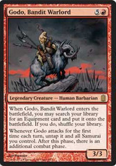 Oversized - Godo, Bandit Warlord on Channel Fireball