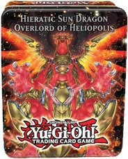 2012 Hieratic Sun Dragon Overlord of Heliopolis Collectible Tin