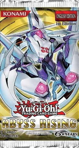 Yu-Gi-Oh Abyss Rising 1st Edition Booster Pack