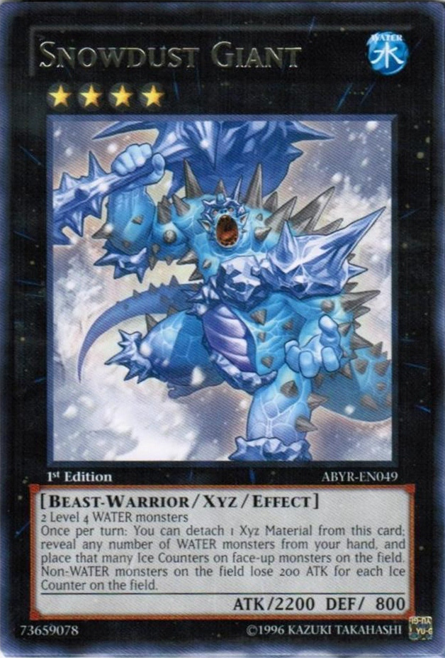 Abyss Rising ABYR Silver Title Rare Yugioh Cards 1st Edition or Unlimited