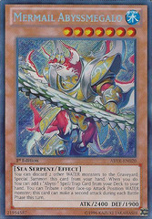 Mermail Abyssmegalo - ABYR-EN020 - Secret Rare - 1st Edition