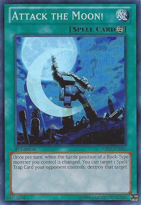 Attack the Moon! - ABYR-EN089 - Super Rare - 1st Edition