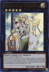 Empress of Prophecy - ABYR-EN047 - Ultra Rare - 1st Edition
