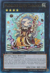 Madolche Queen Tiaramisu - ABYR-EN048 - Ultra Rare - 1st Edition on Channel Fireball