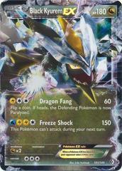Black Kyurem-EX - 101/149 - Rare Holo EX