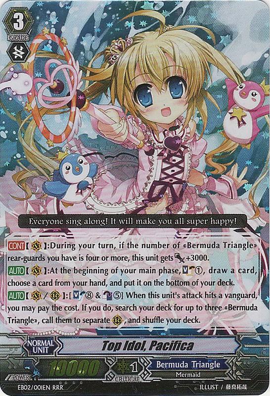 Top Idol, Pacifica - EB02/001EN - RRR