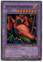 Twin-Headed Thunder Dragon - MRD-120 - Super Rare - 1st Edition