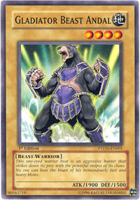 Gladiator Beast Andal - PTDN-EN001 - Common - 1st Edition