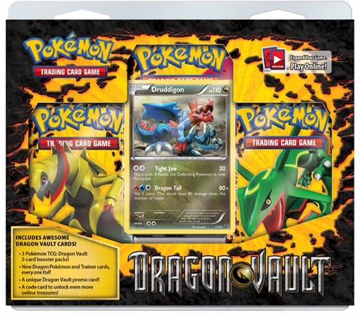 Pokemon Dragon Vault Blister Pack - Druddigon Promo