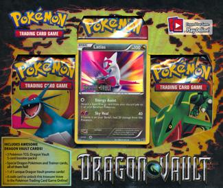 Pokemon Dragon Vault Blister Pack - Latias Promo