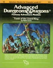 AD&D I2 - Tomb of the Lizard King 9055