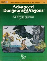AD&D UK5 - Eye of the Serpent 9125