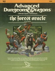 AD&D - N2 - The Forest Oracle 9084
