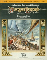 AD&D DL6 - Dragons of Ice 9140