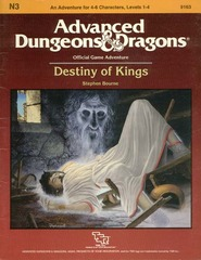 AD&D - N3 - Destiny of Kings 9163
