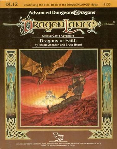AD&D DL12 - Dragons of Faith 9133