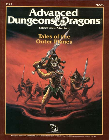 AD&D OP1 - Tales of the Outer Planes 9225