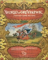 World of Greyhawk Fantasy Game Setting