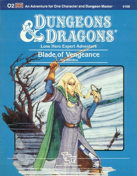 D&D O2 - Blade of Vengeance 9108