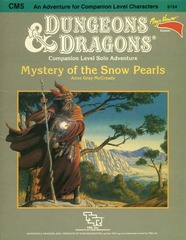 D&D CM5 - Mystery of the Snow Pearls 9154