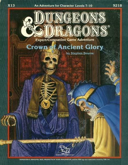 D&D X13 - Crown of Ancient Glory - 9218
