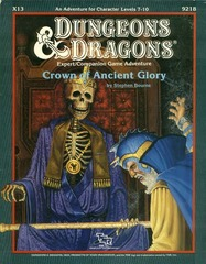 D&D X13 - Crown of Ancient Glory - 9218
