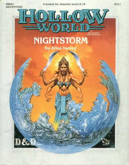D&D Hollow World HWA3 Nightstorm 9311