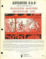 AD&D - Dungeon Master's Adventure Log 9036