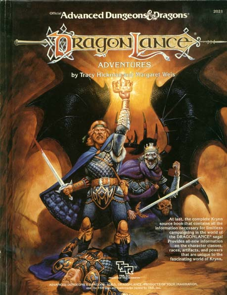 AD&D (1e) - Dragonlance Adventures 2021 HC