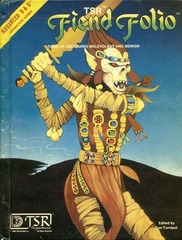 Dungeons & Dragons RPG - Fiend Folio (2nd Edition)